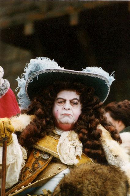 Marc Dudicourt. Le marquis. Maquillage d\u0027époque louis XIV
